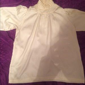 Jantzen High collar blouse